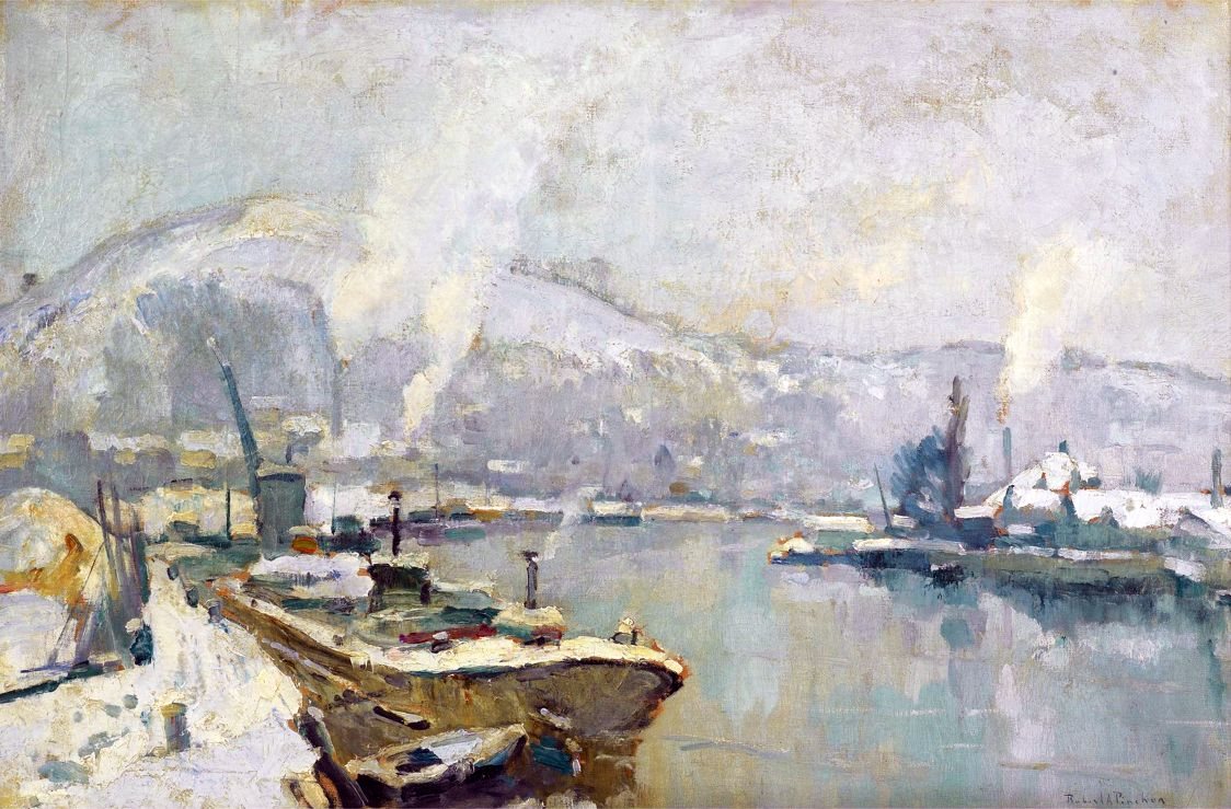 List Of Works By Robert Antoine Pinchon Wikipedia Port De
