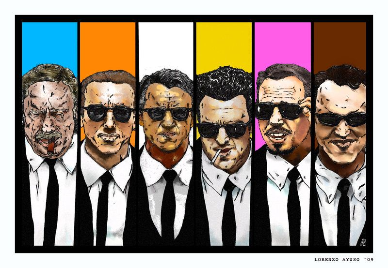 Reservoir Dogs Colors Names