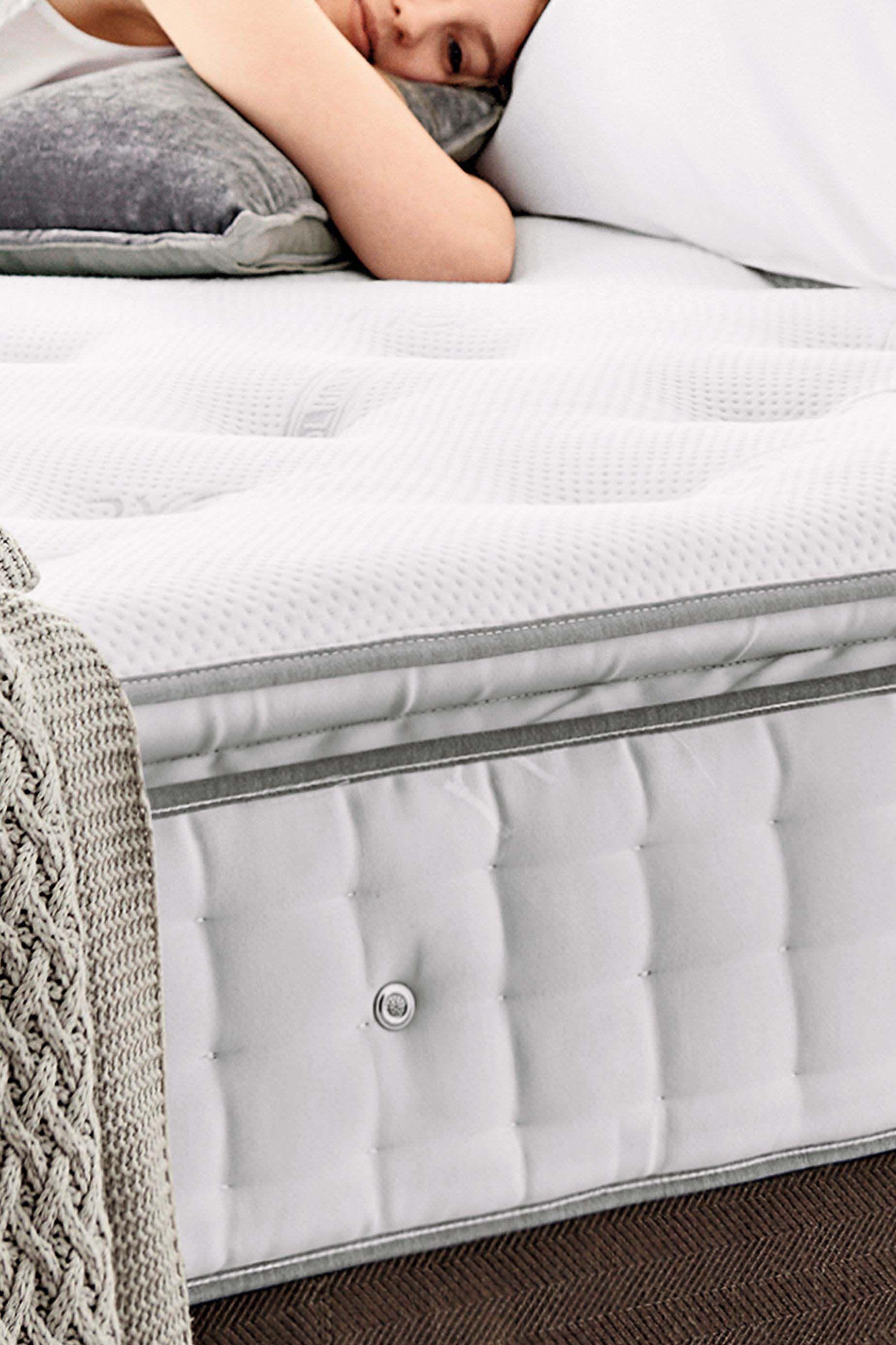 Next 1500 Pocket Sprung With Memory Foam Pillowtop Medium Mattress White Mattress Dimensions Mattress Furniture Luxury Pillows
