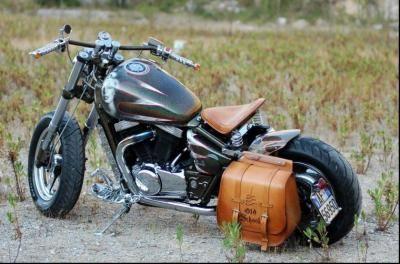 Moto Custom Suzuki Marauder 800 – Idea di immagine del motociclo