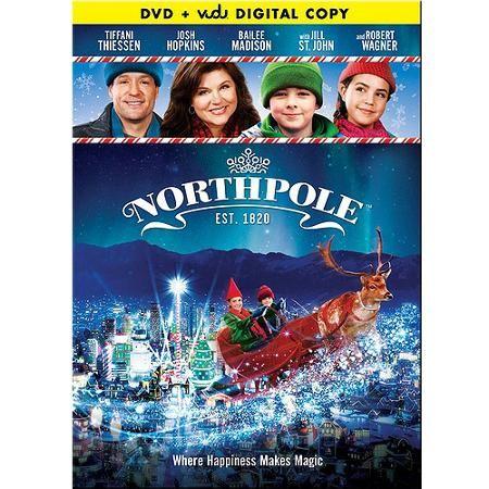 Northpole Dvd Vudu Digital Copy Walmart Exclusive Holiday Movie Hallmark Christmas Movies Best Kid Movies