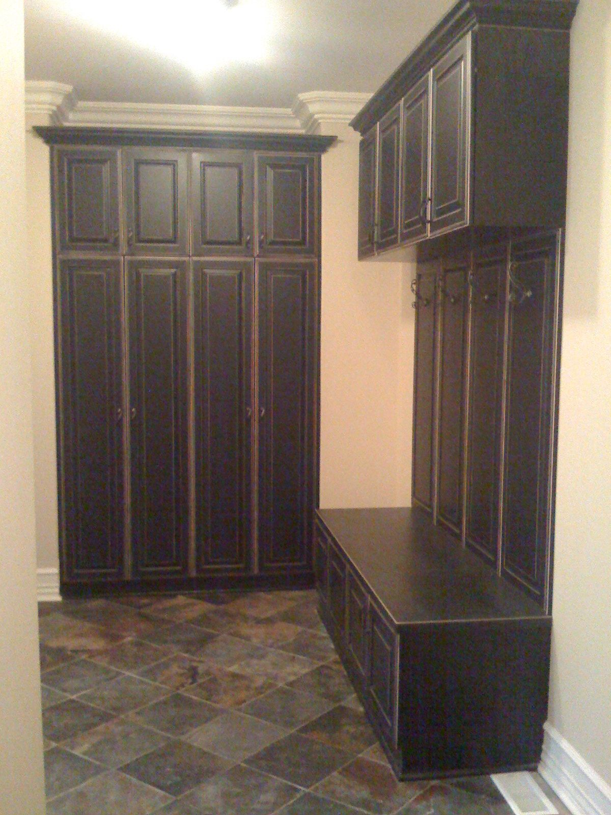 Mudroom lockers with doors - 1000 Images About Mudroom On Pinterest Window Seats Bench Seat And The Go