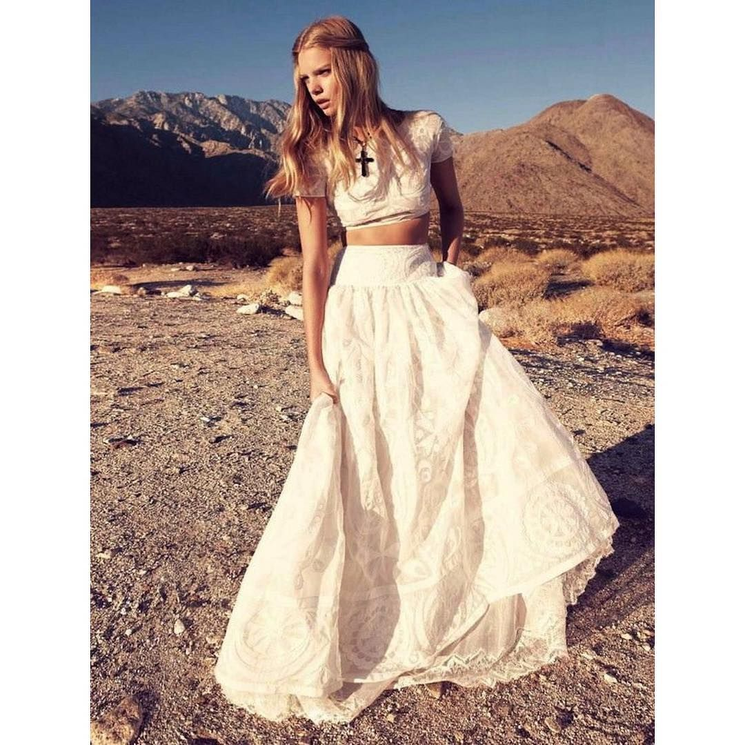 Mexican style wedding dress  Desire to inspire gypsy whitemood  Dresses  Pinterest  Hippie