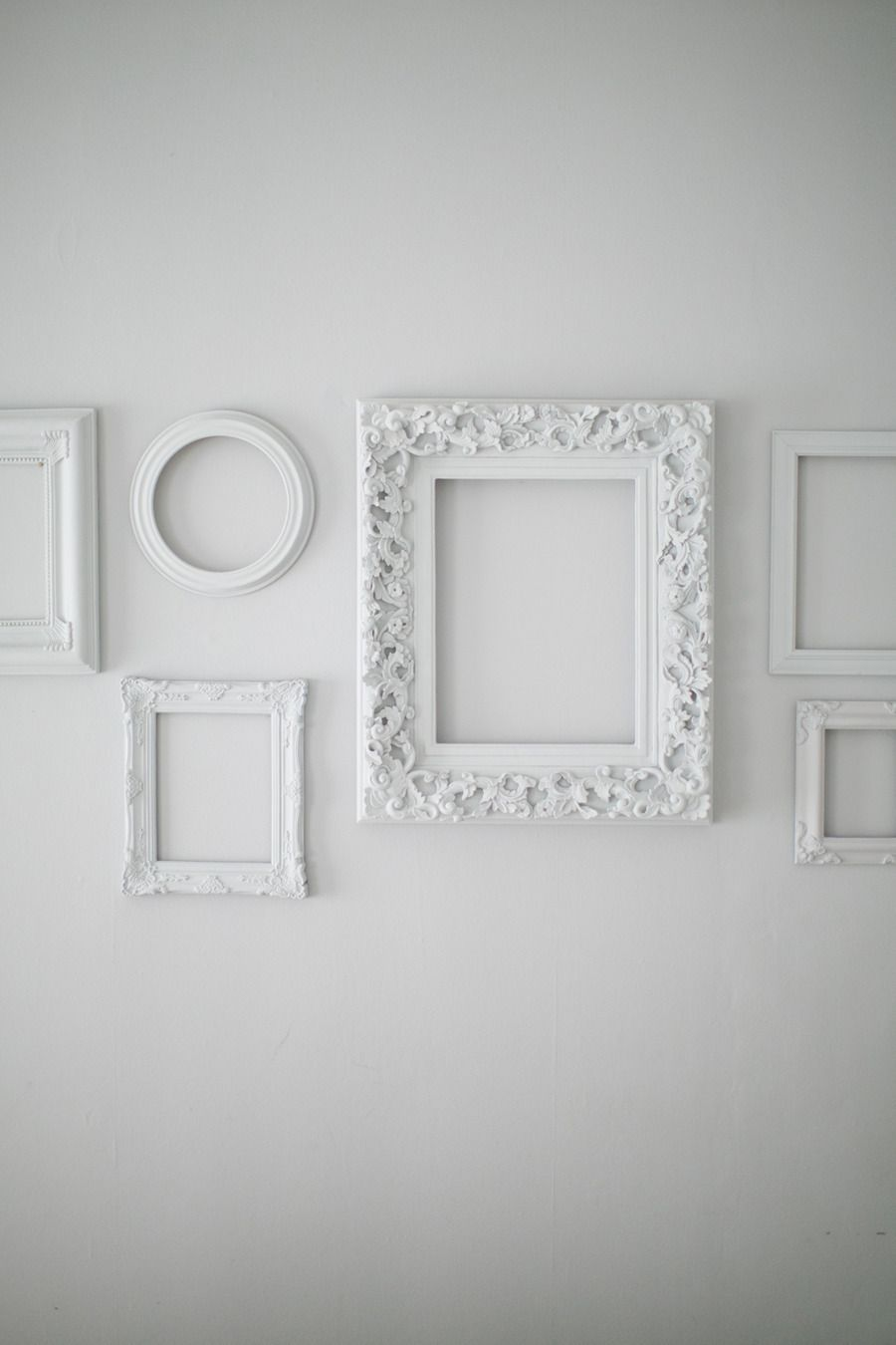 Behind The Blog With Cupcakes And Cashmere Empty Picture Frames Frames On Wall Wall Gallery