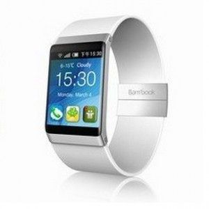 30ab0706c88 The Bambook Smart Watch is slim and has a zen-like design that reminds me  of an Apple product. There will be multiple versions of the Bambook Smart  Watch.