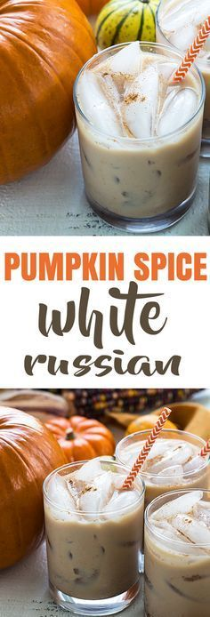 Pumpkin Spice White Russians | The Blond Cook