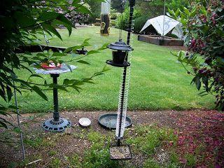 slinky pole squirrel proof bird feeders backyard bird feeders squirrel proof bird feeders. Black Bedroom Furniture Sets. Home Design Ideas
