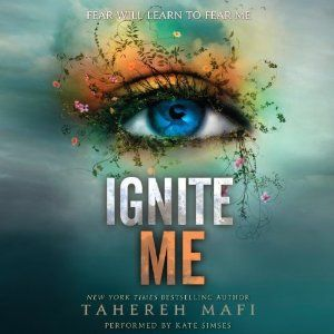 Ignite Me | [Tahereh Mafi] Good series, not my favorite but worth the read.  Good choice for Matched, and The Selection series fans.