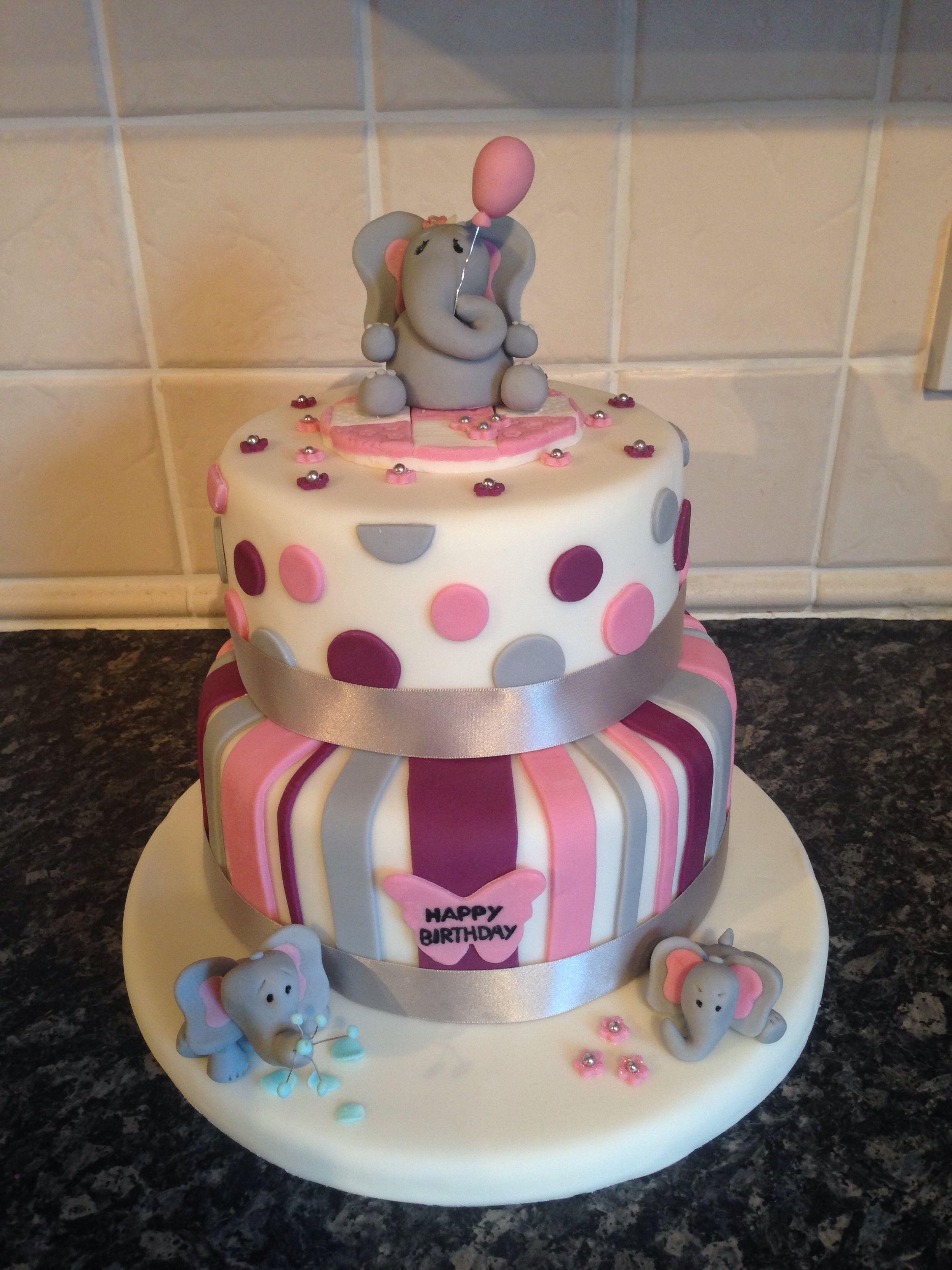 Elephant Birthday Cake Cakes Birthday Cake Elephant Birthday