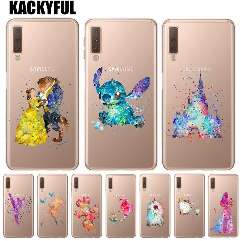 coque samsung a7 2018 disney stitch