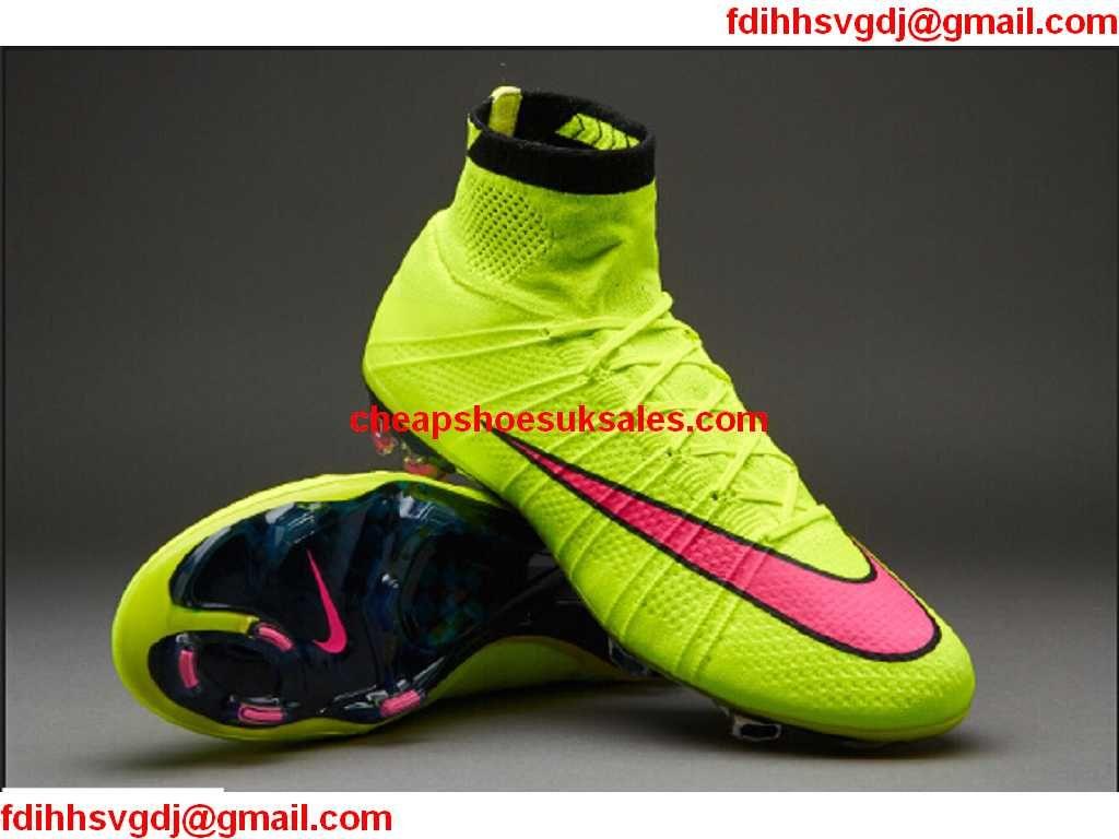 73e713644 ... 50% off 2015 new nike mercurial superfly fg football boots uk volt pink  c0aab 8e463