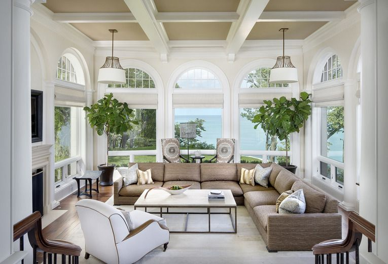 17 best images about interior design sunroom on pinterest indoor sunrooms window and seating areas - Sunroom Ideas Designs