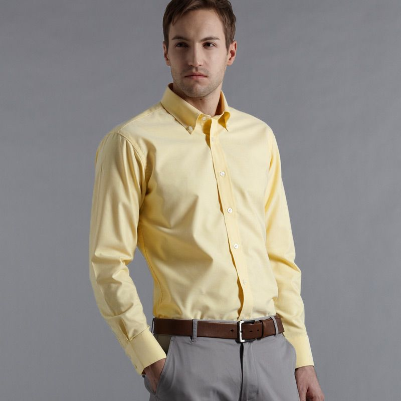 what goes with yellow shirt