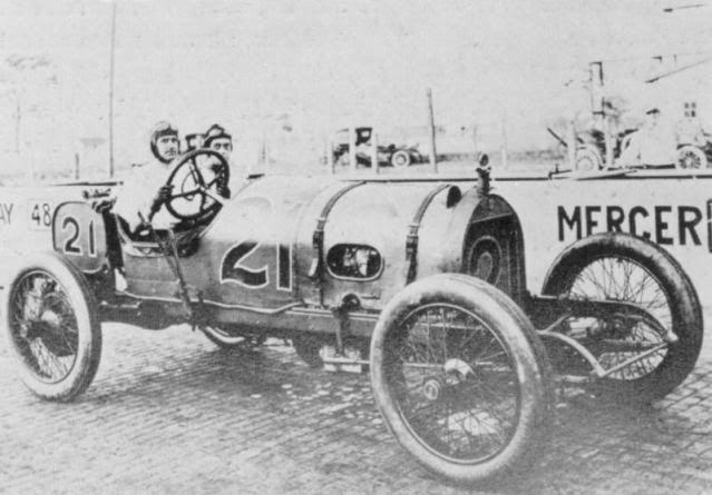 Caleb Bragg driver in 1911 Indy 500.