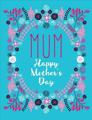 R prinn mothers day floral frame turquoiseg greeting card r prinn mothers day floral frame turquoiseg greeting card papyrus cardsmothers m4hsunfo