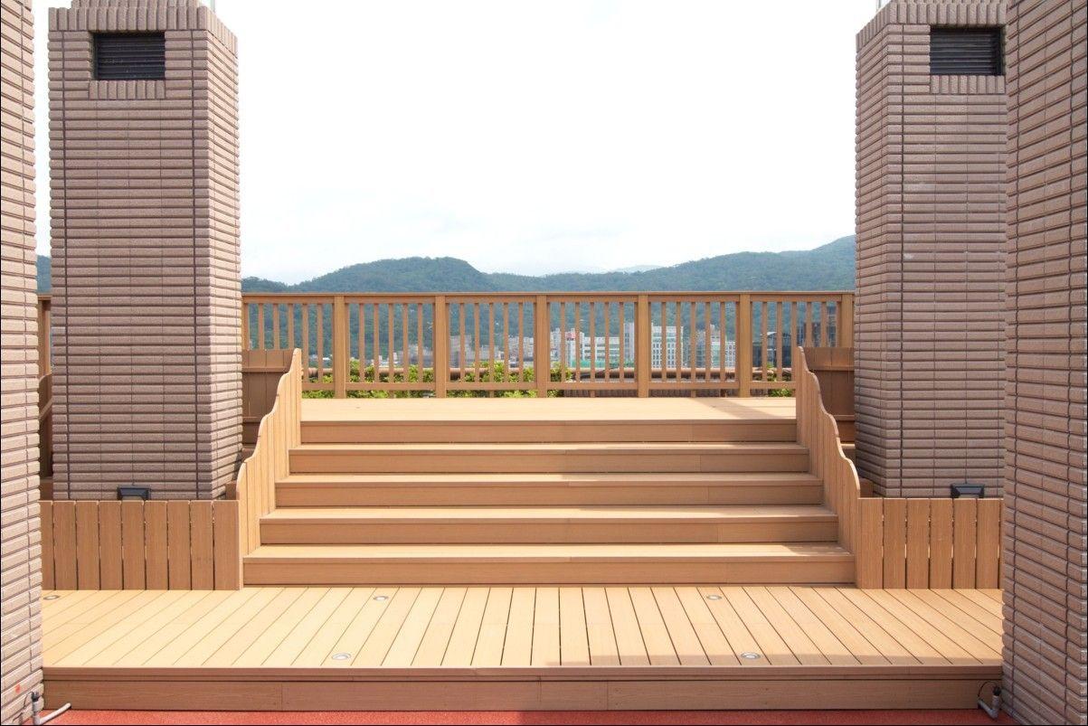 composite deck - wpc laminated flooring | Wood deck ...