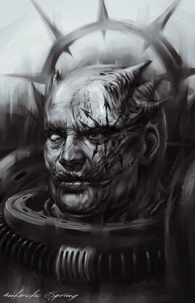 Wall | VK | Warhammer 40k | Warhammer art, Space marine, Warhammer