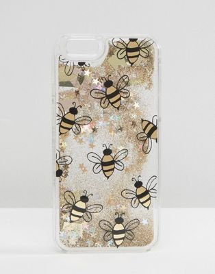 premium selection 935ef 8e774 Skinnydip Bee Liquid Glitter iPhone 6/6s Case in 2019 | phone ...