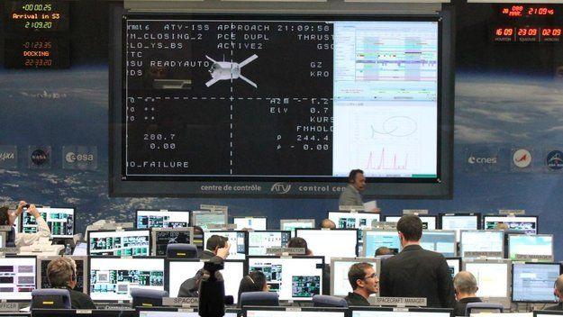 Mantis Society Study Center: ATV-3 docking