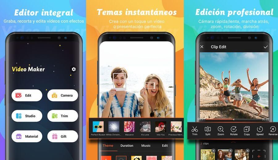 Video Maker Es Un Impresionante Editor De Vídeo Para Android Gratuito Y Sin Marcas De Agua P Phone Photography Smartphone Photography Photography Tips Iphone