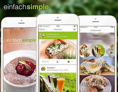 """Unsere neue """"einfachsimple Rezept APP"""". Rezepte für jeden - die großen Köche und solche die es noch werden wollen. http://on.be.net/1JpubbM"""