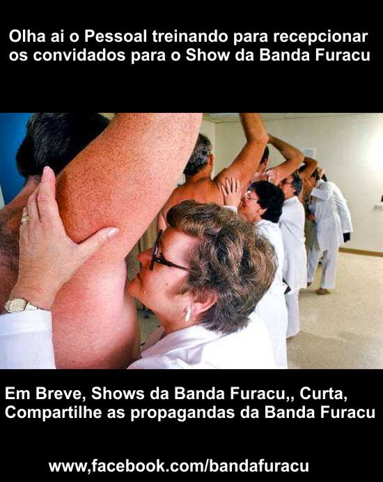 Furacu Recepçao de Shows