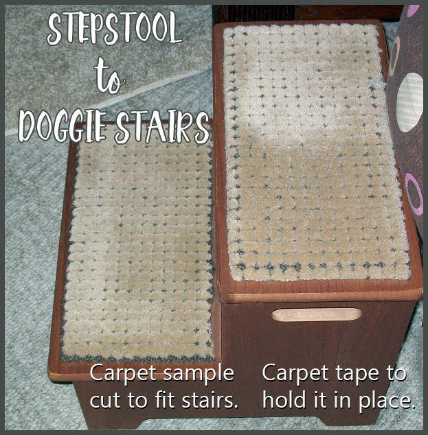 Best From Step Stool To Doggie Stairs Carpet Samples Dog 400 x 300