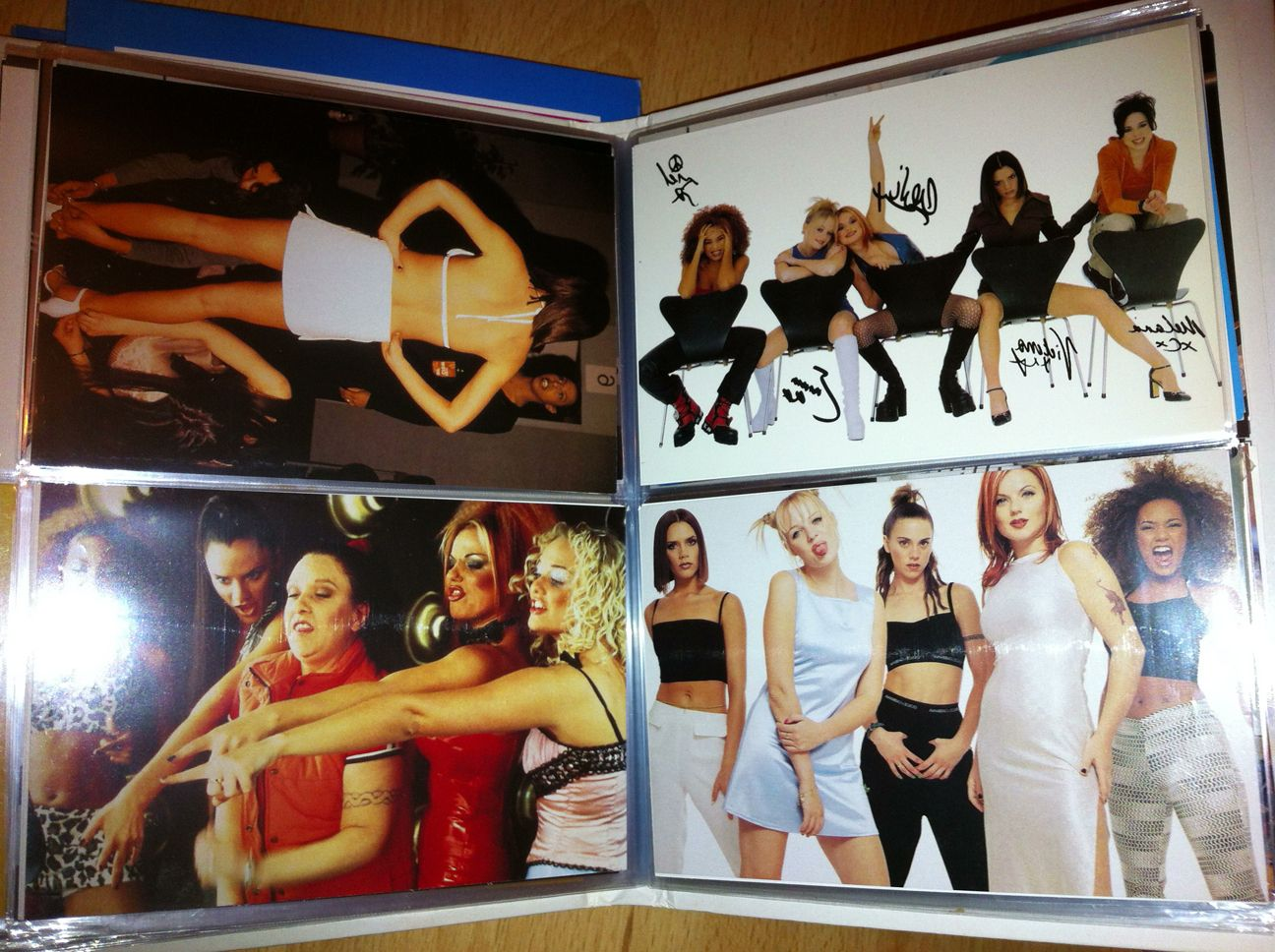 Spice Girls Photo Album First Edition