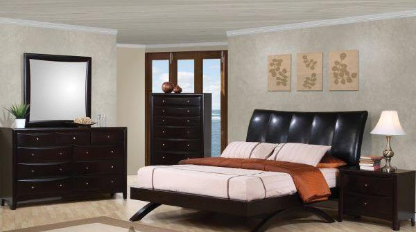 Phoenix Bedroom Collection | Upholstered bedroom set ...