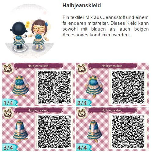 Animal Crossing New Leaf Clothes Qr Codes