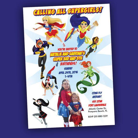 Girl Superhero Party Dc Super Hero Girls Fun Birthday