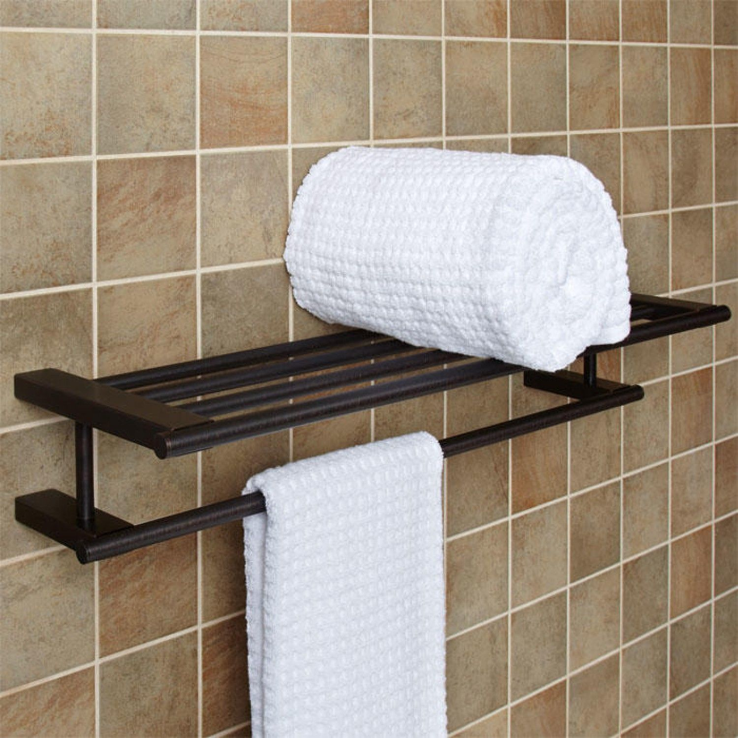 il home bath fullxfull rack rustic bathroom wooden towel decor industrial listing shelf for