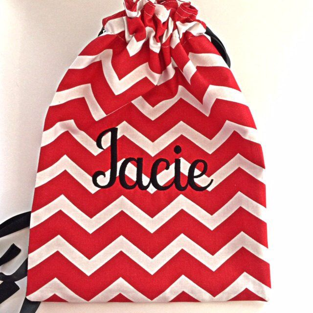 2618050b6cd5 Excited to share this item from my #etsy shop: Gymnastics Chevron  Monogrammed Grip Bag, Gymnastics Grip Bag, Gymnast Grip Bag, Gymnast,  Personalized Grip ...