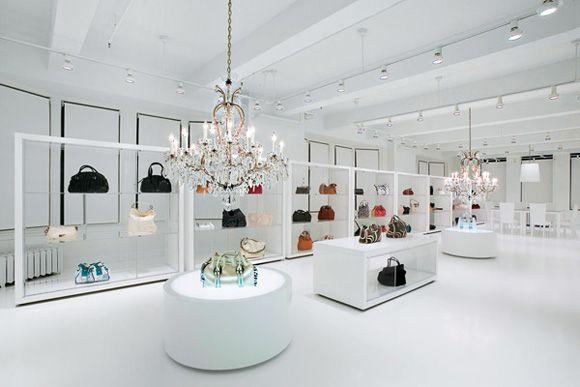 Jessica Simpsons Handbag Showroom by Andre Tchelistcheff