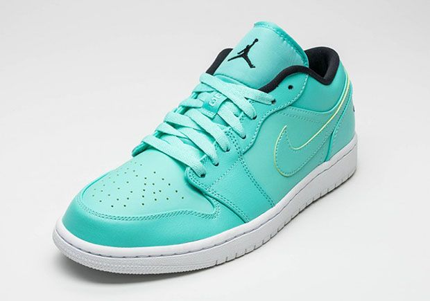 """newest 2180b ae30c There will definitely be whispers of """"Tiffany"""" in regards to this upcoming  colorway for the Air Jordan 1 Low, and we re not talking about the  80s pop  ..."""