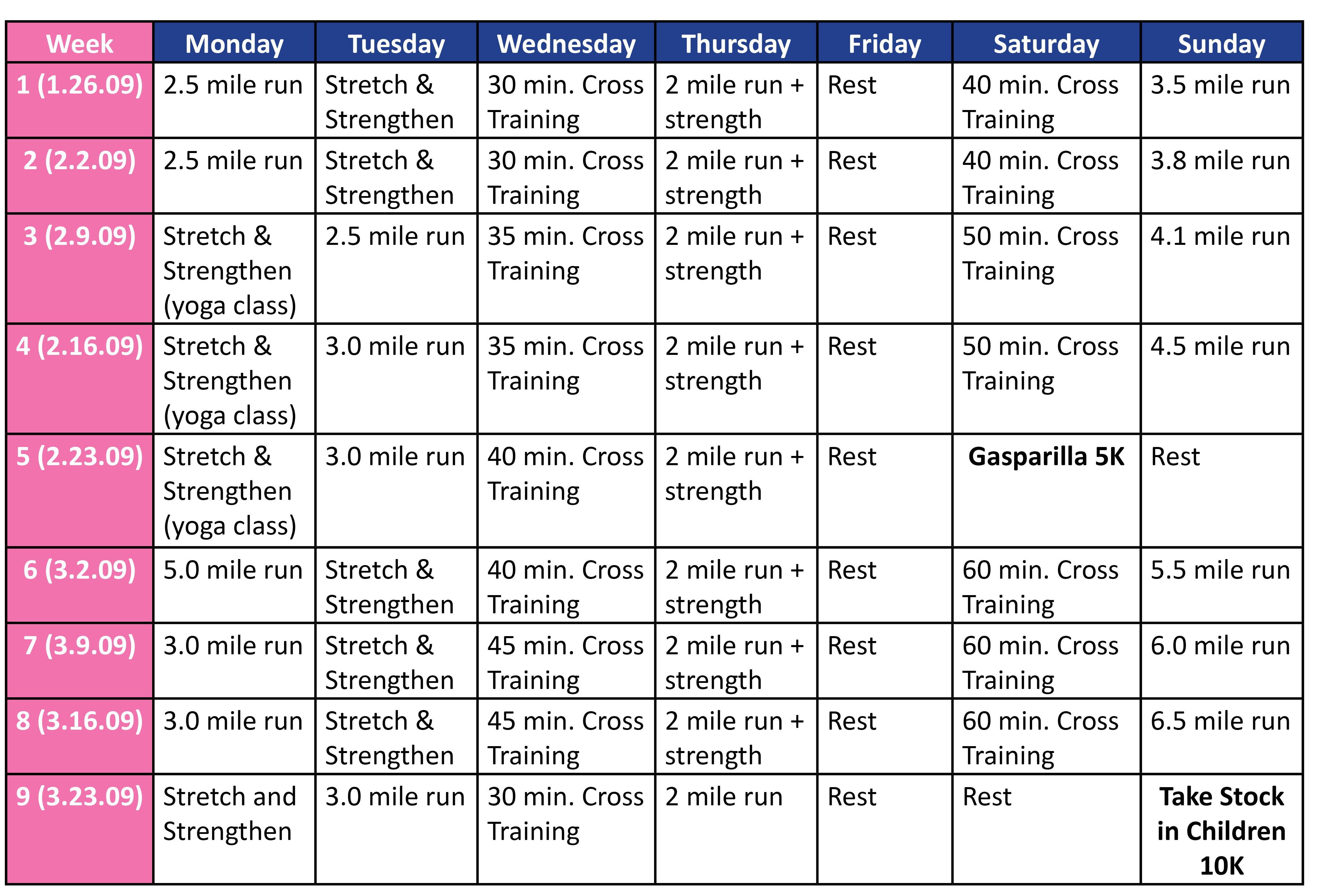 workout plan creator
