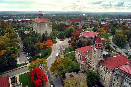 Beautiful University of Kansas #ku #jayhawks