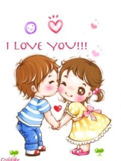 I Love You Cartoon Download I Love You Mobile Wallpaper Mobile Toones Cute Love Wallpapers Cute Love Cartoons Cute Love Gif