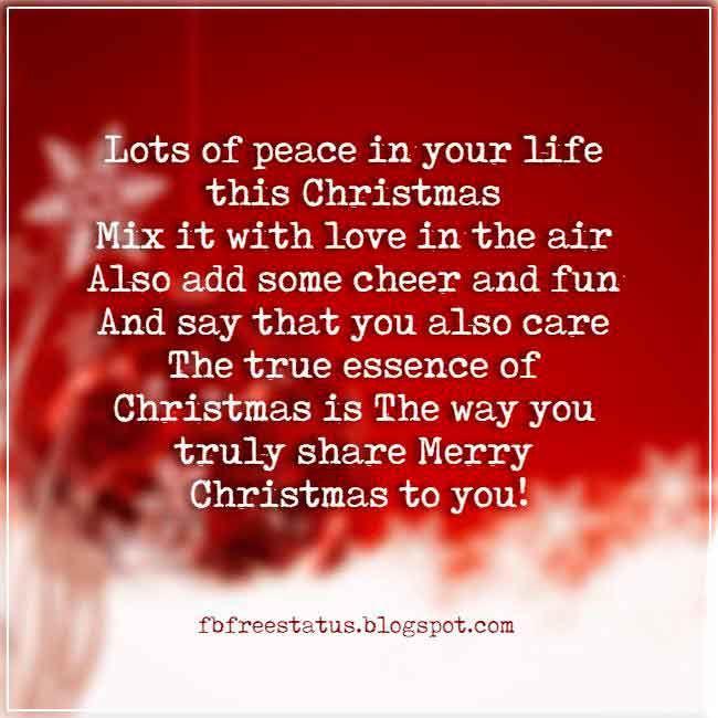 Christmas Sayings For Card And Christmas Wording Ideas