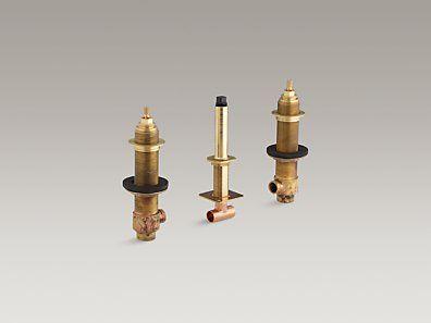 Kohler K 301 K Na 3 4 Ceramic High Flow Valve System For