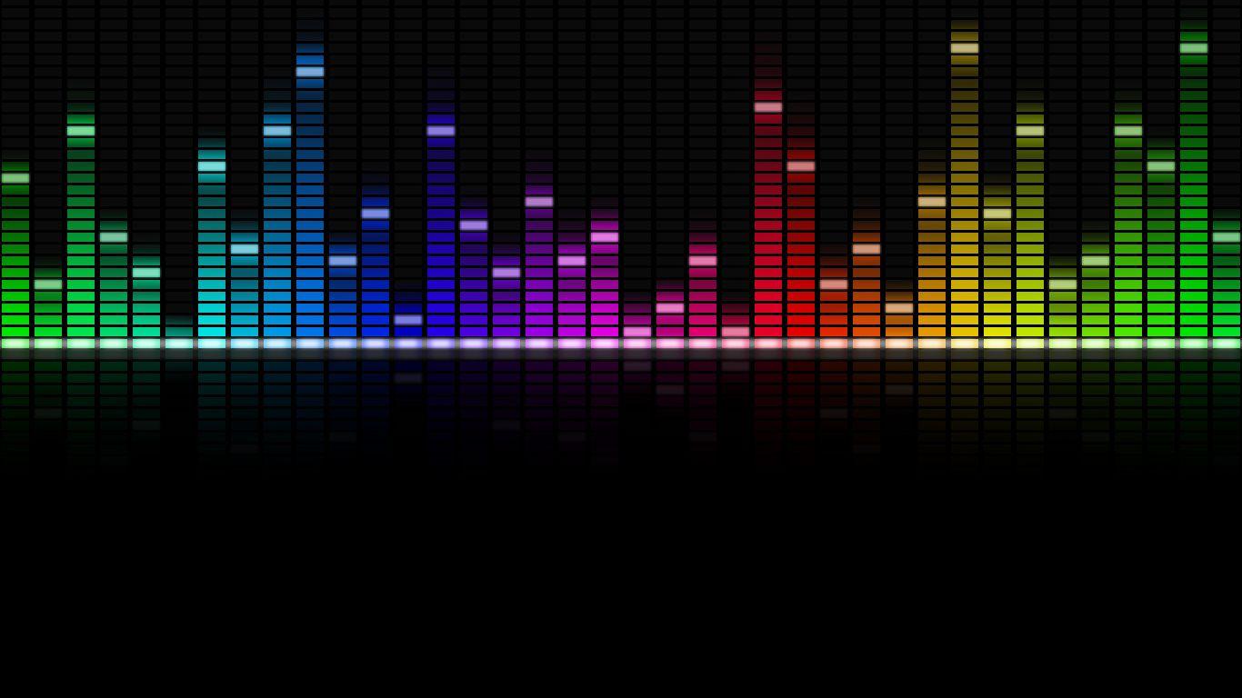 как сделать эквалайзер с музыкой на картинку упорядочить