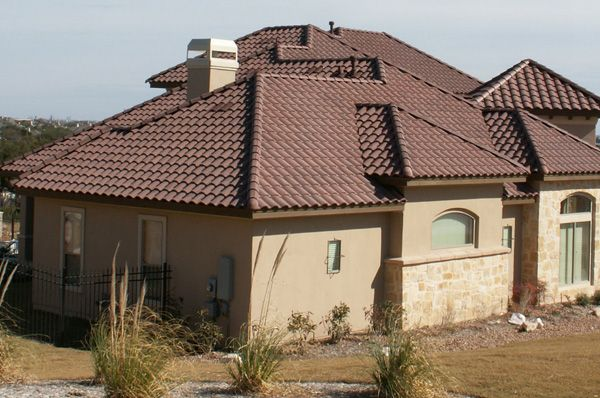 Best Hanson Roof Tile Concrete Roof Tile In Many Beautiful Styles And Colors Regal Chestnut Brown 400 x 300
