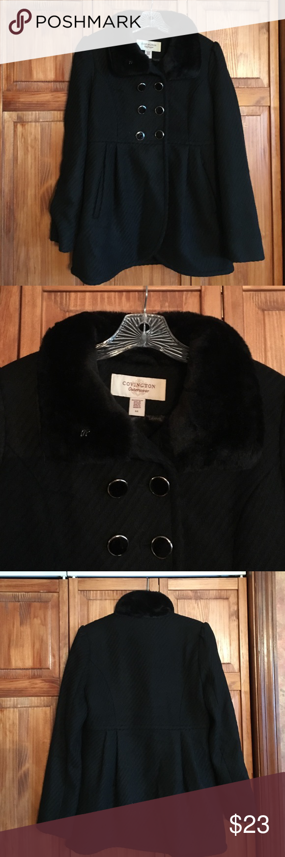 Covington Jacket With Fake Fur Collar Clothes Design Fur Collars Jackets [ 1740 x 580 Pixel ]