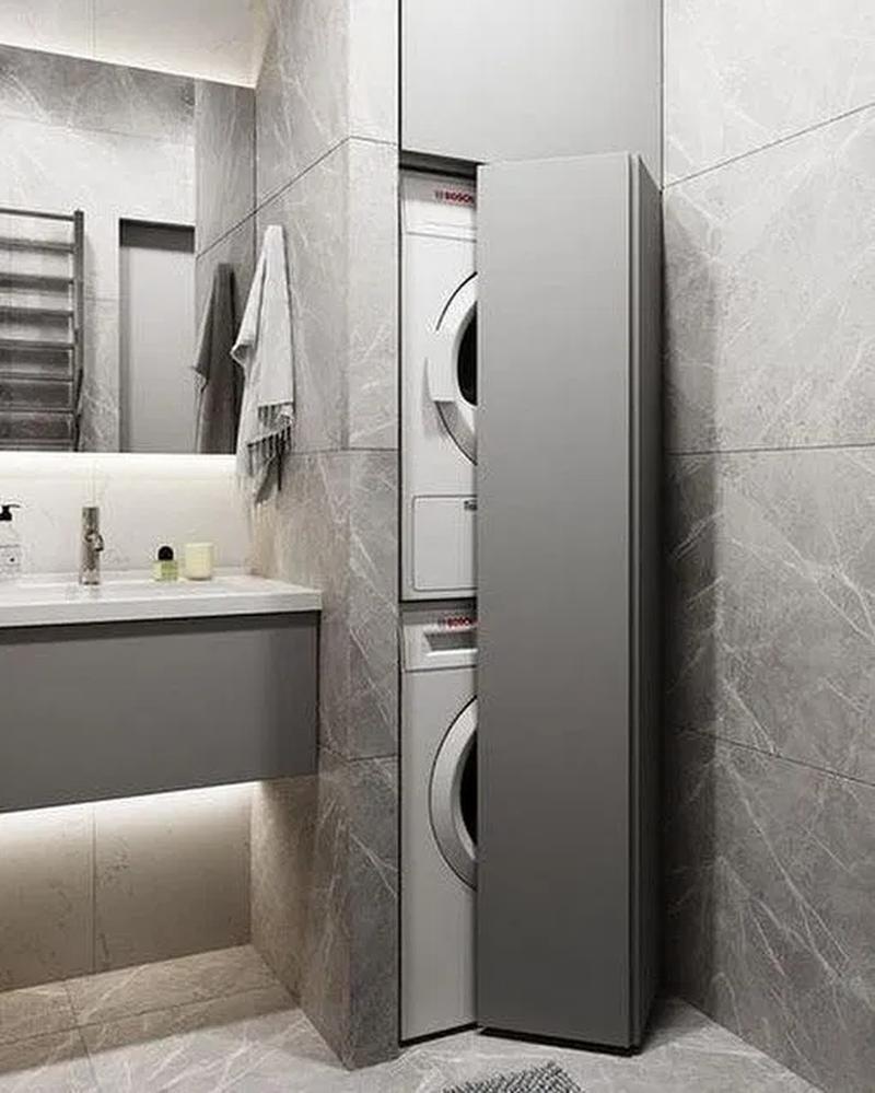 31 moderne Waschküche Designs Ideen