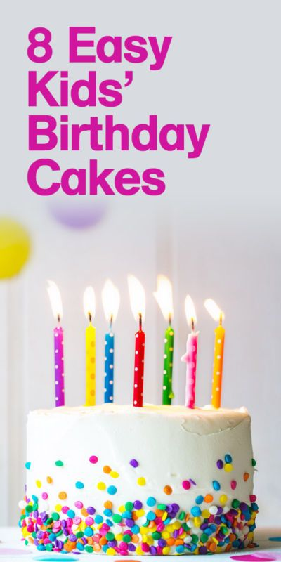 8 Easy Kids Birthday Cakes That Any Mum Can Make Kids And