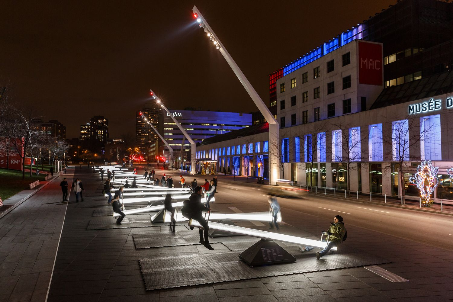 "Gallery - ""Impulse"" Installation Turns Montreal into a Musical Playground - 1"
