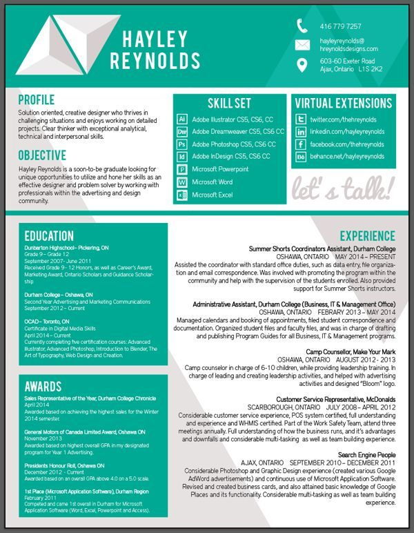 Attractive Colour Resume Format New 31 Best Resume Cv Images On Pinterest