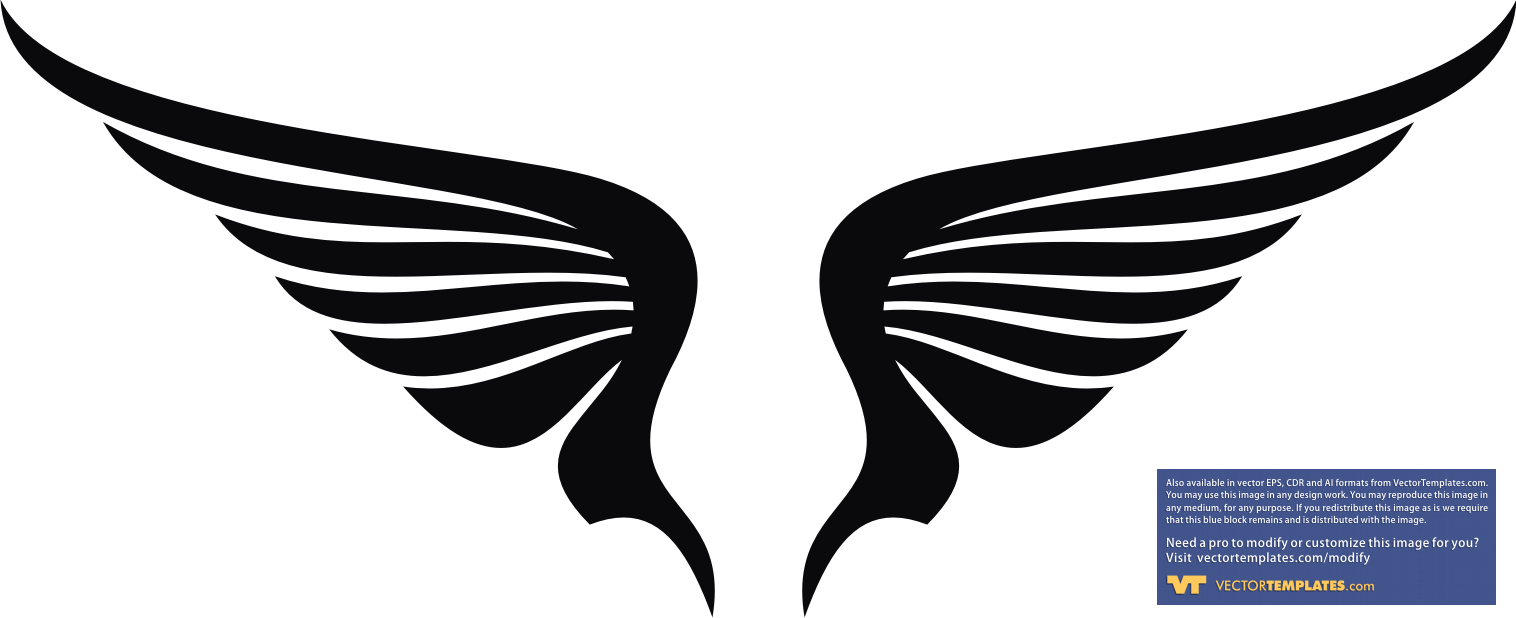 Wings | Free Images at Clker.com - vector clip art online ...