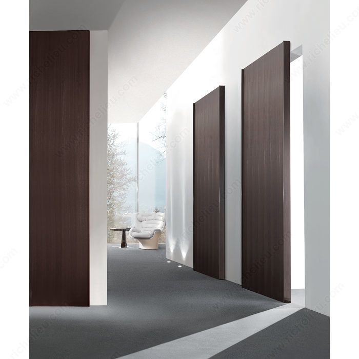 Ghost System Completely Concealed Hardware The Slide System Is Built Into The Door Making It Completely Wood Doors Interior Doors Interior Sliding Wood Doors