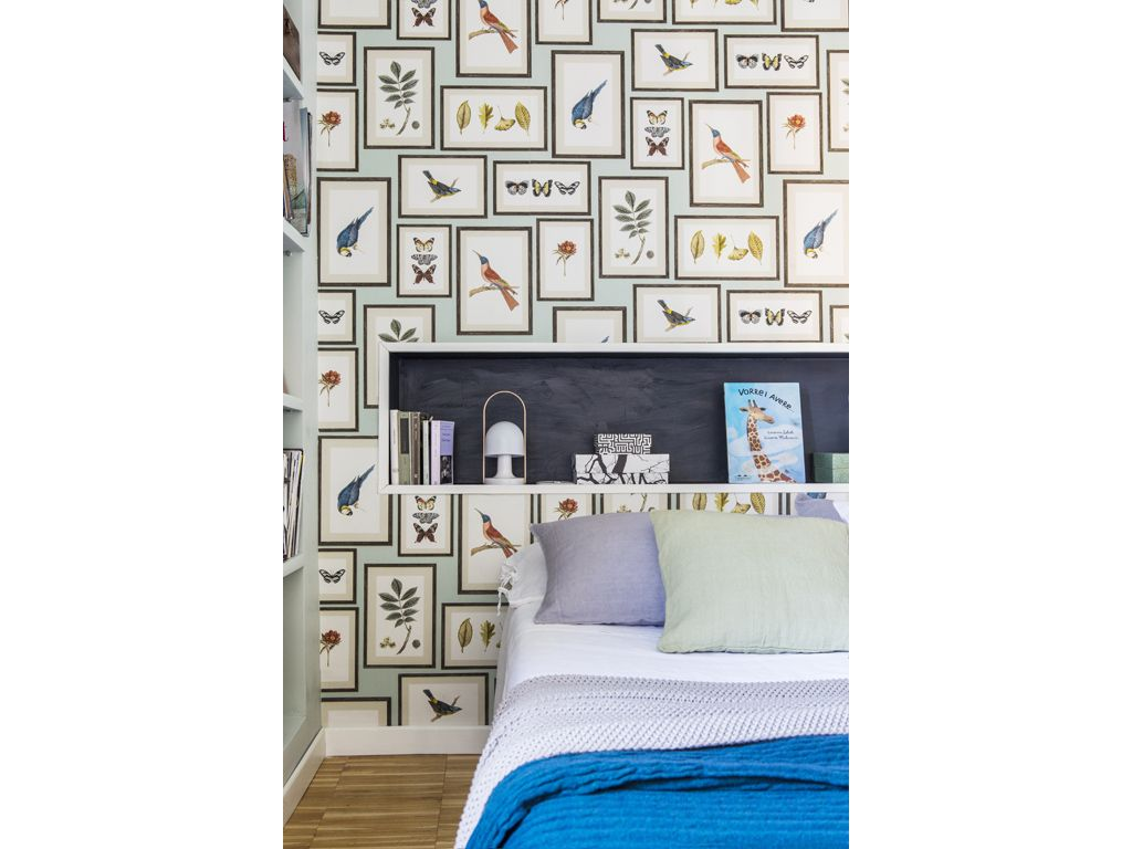Carta Da Parati Picture Gallery Aqua Sanderson Bedroom